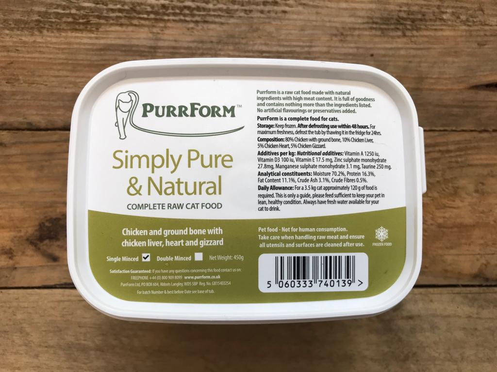 PurrForm Chicken – 450g
