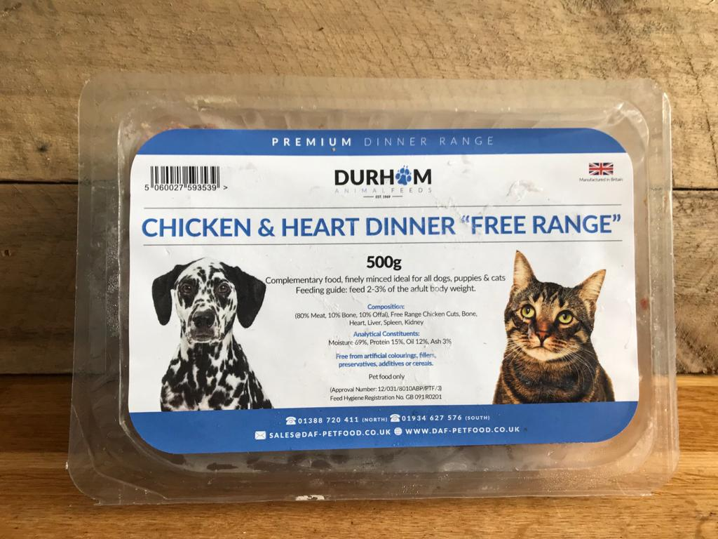 DAF Chicken & Heart – 500g