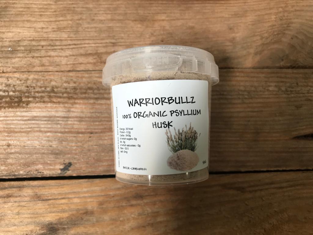 WarriorBullz Psyllium Husk – 50g