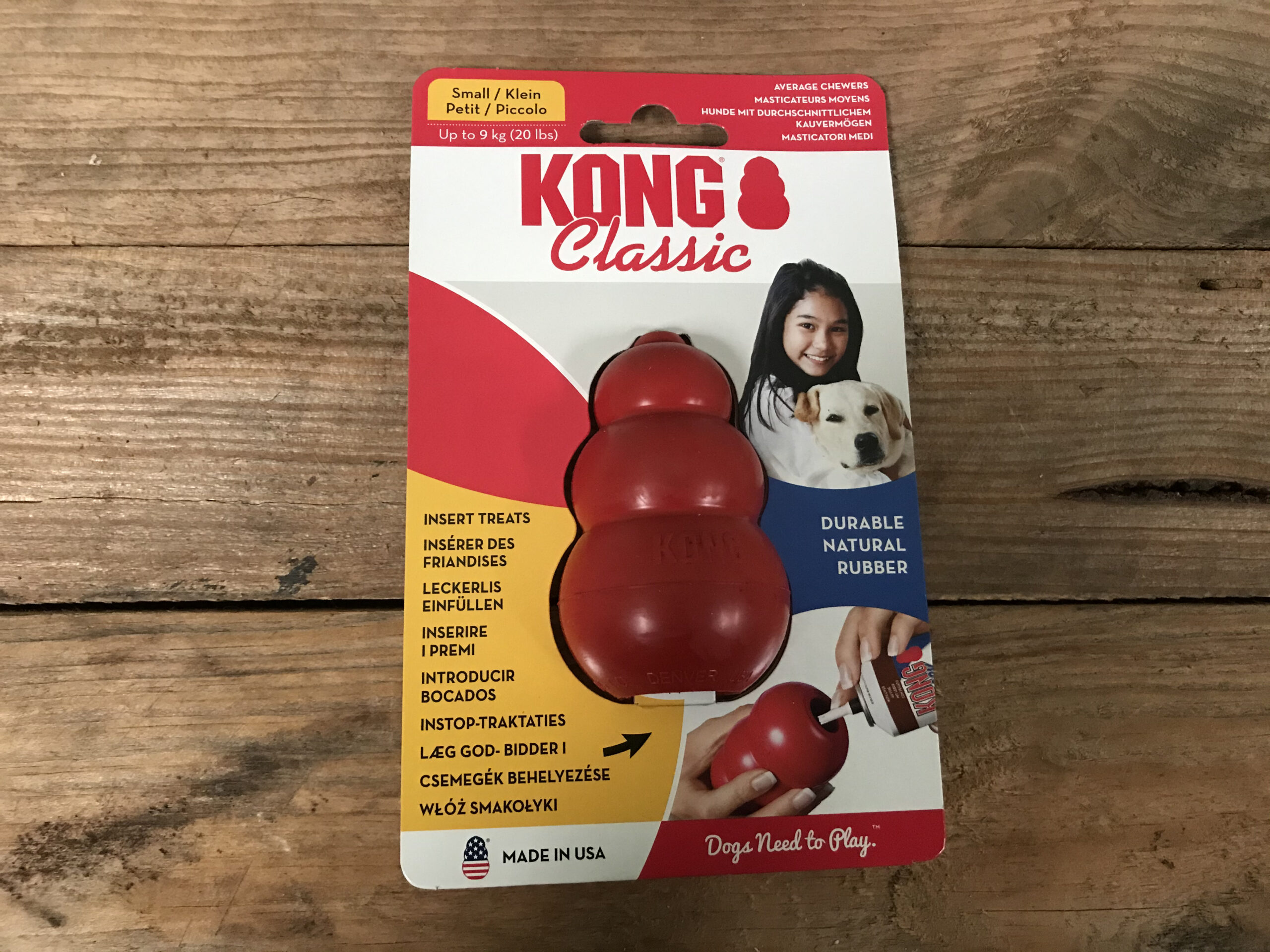 KONG Classic Small – 1 Pc