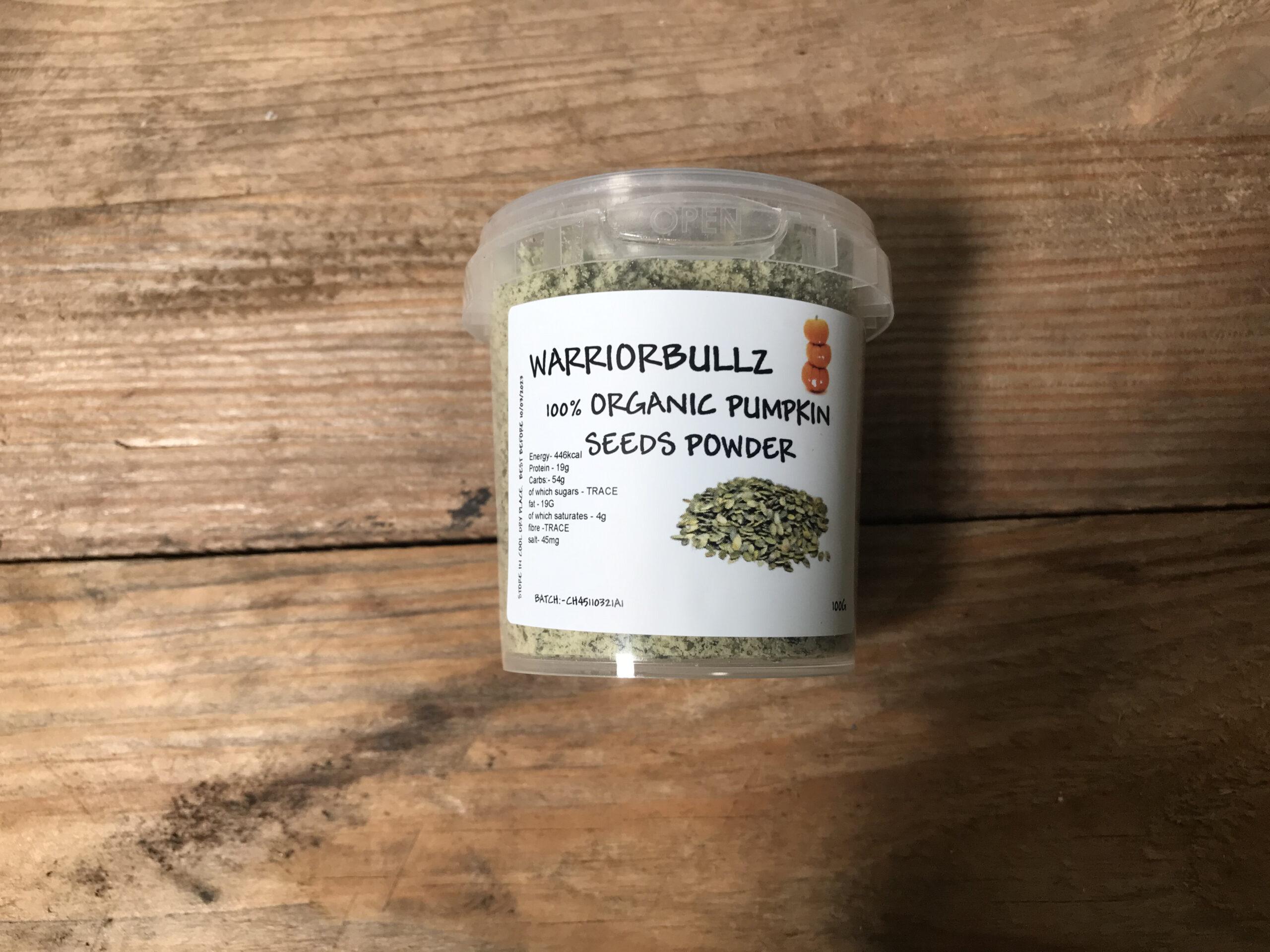 Warriorbullz Organic Pumpkin Seed Powder
