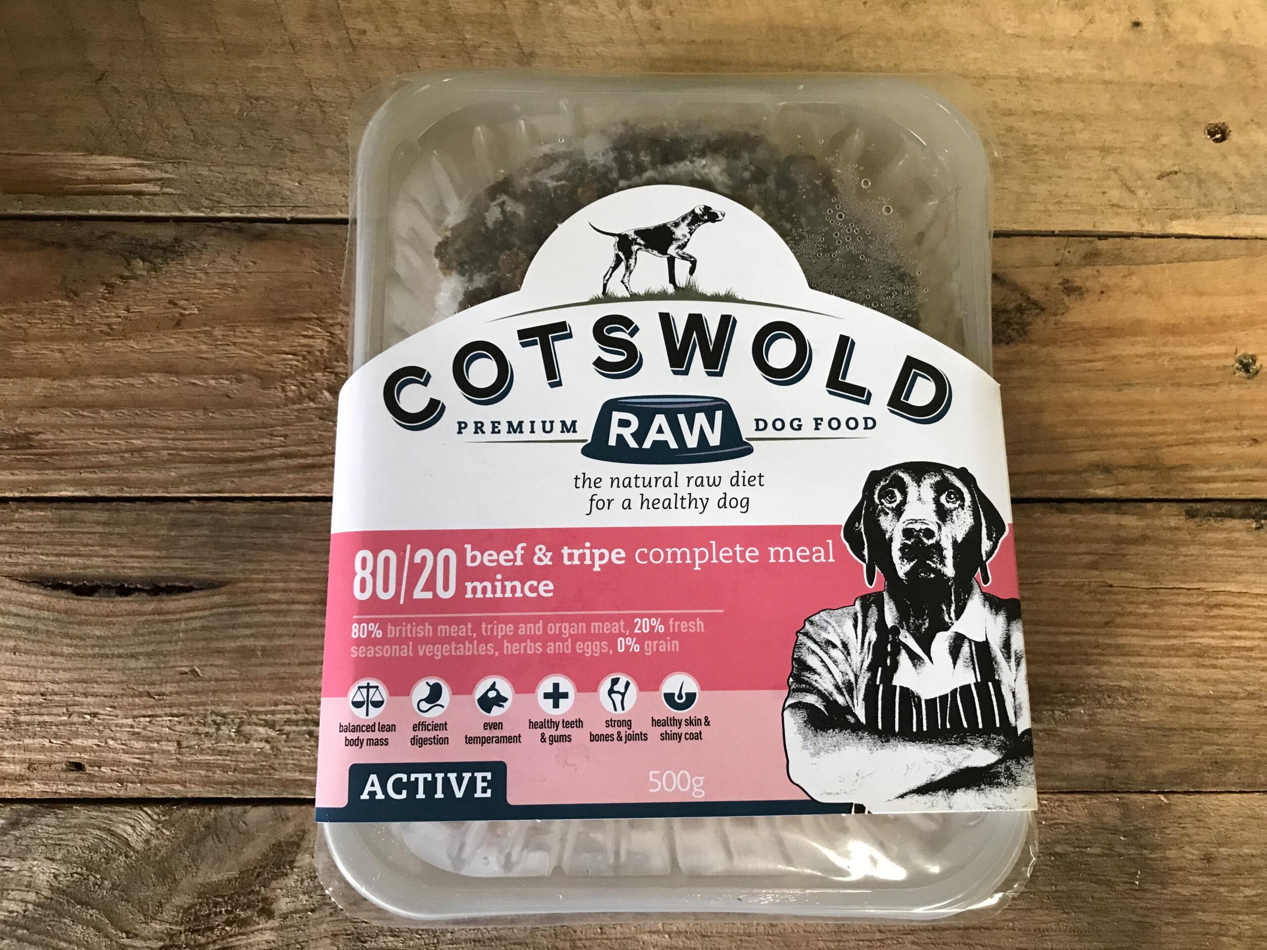 Cotswold Beef & Tripe 80/20 – 500g