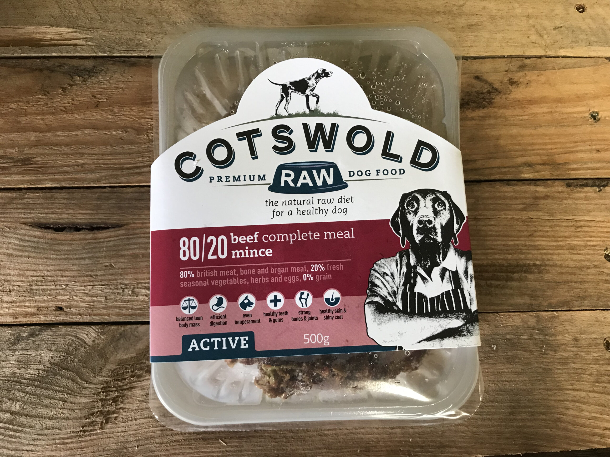 Cotswold Beef 80/20 – 500g