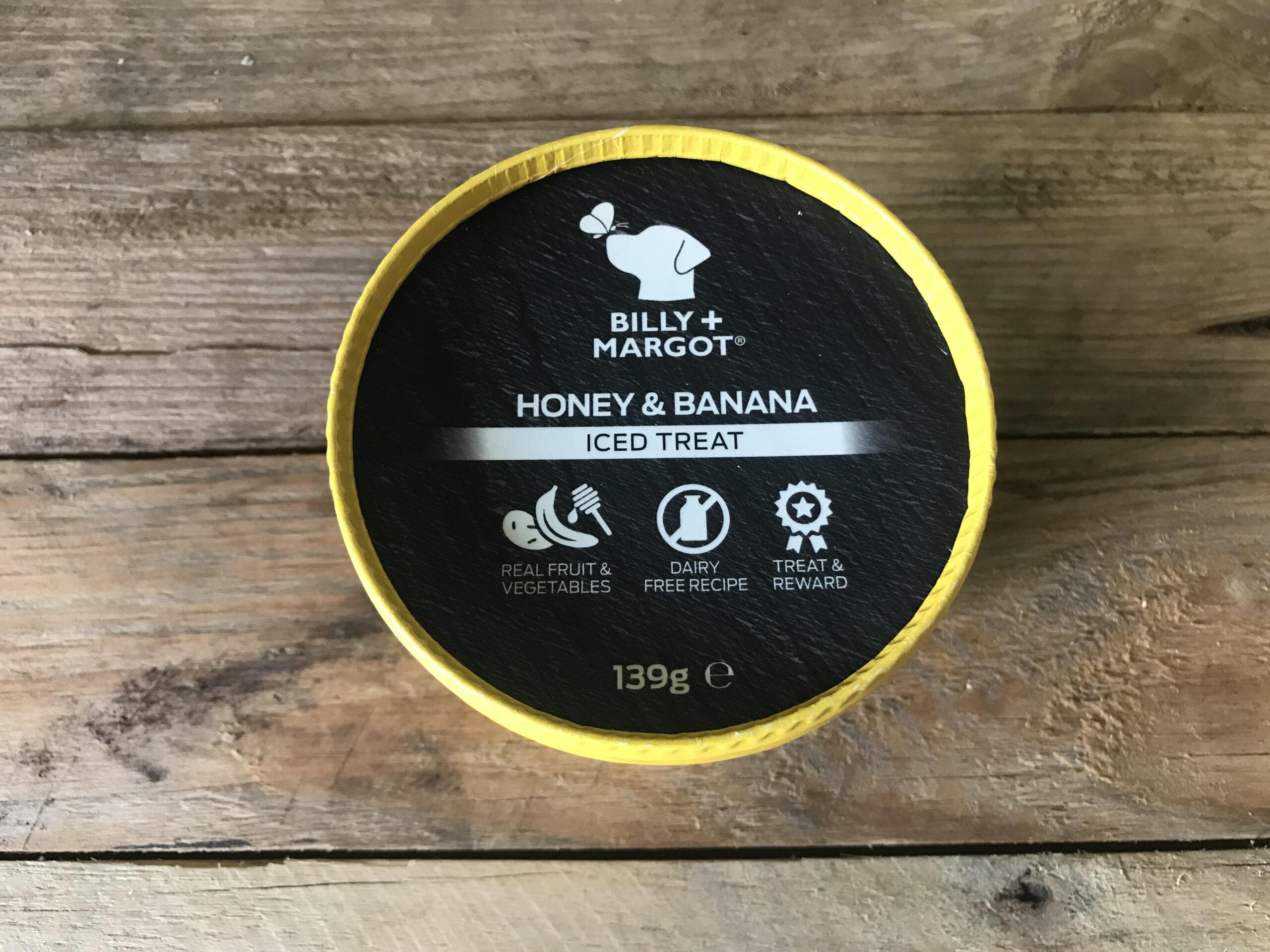 Billy + Margot Banana & Honey Iced Treat – 139g
