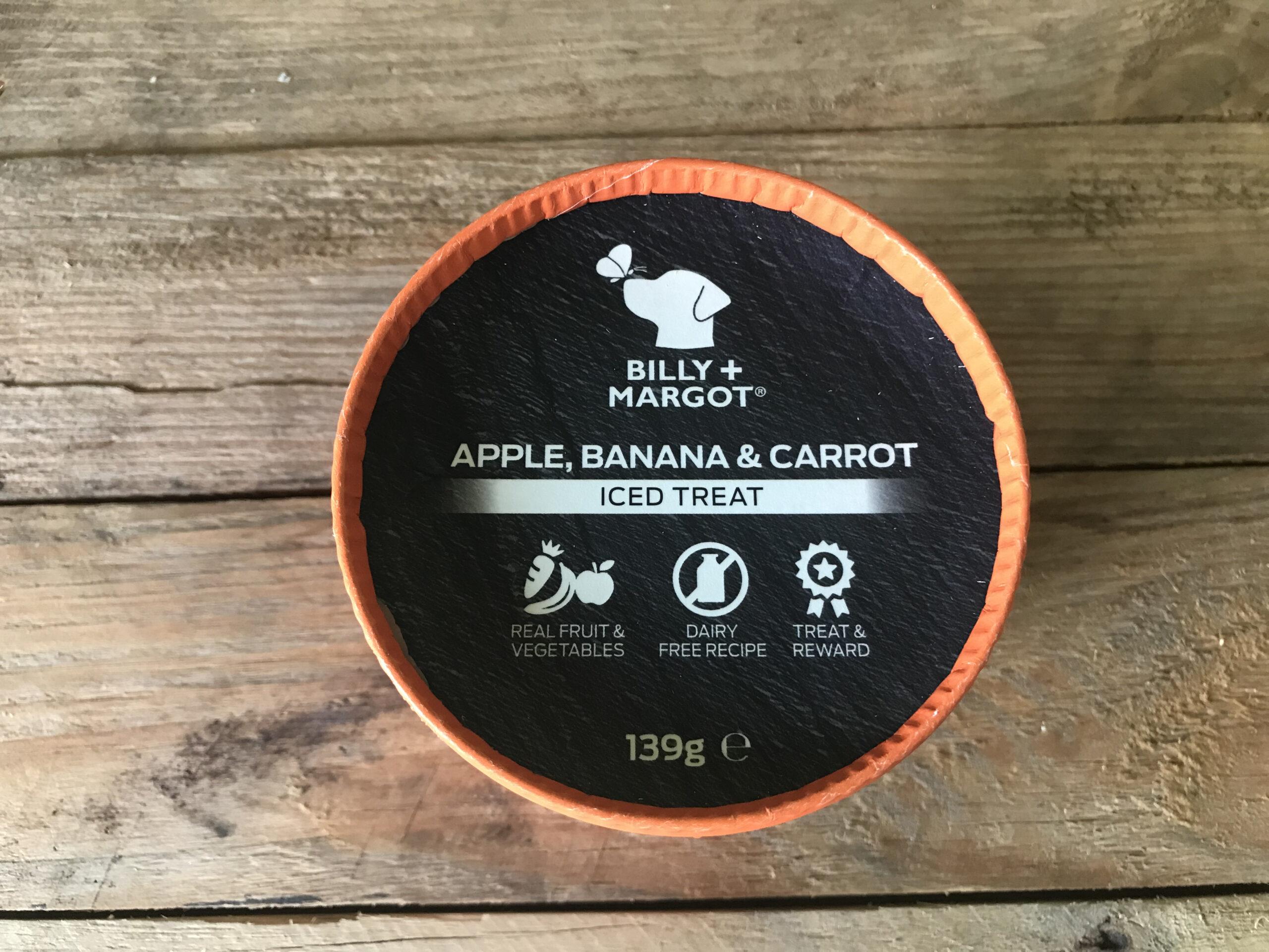 Billy + Margot Apple, Banana & Carrot Iced Treat – 139g