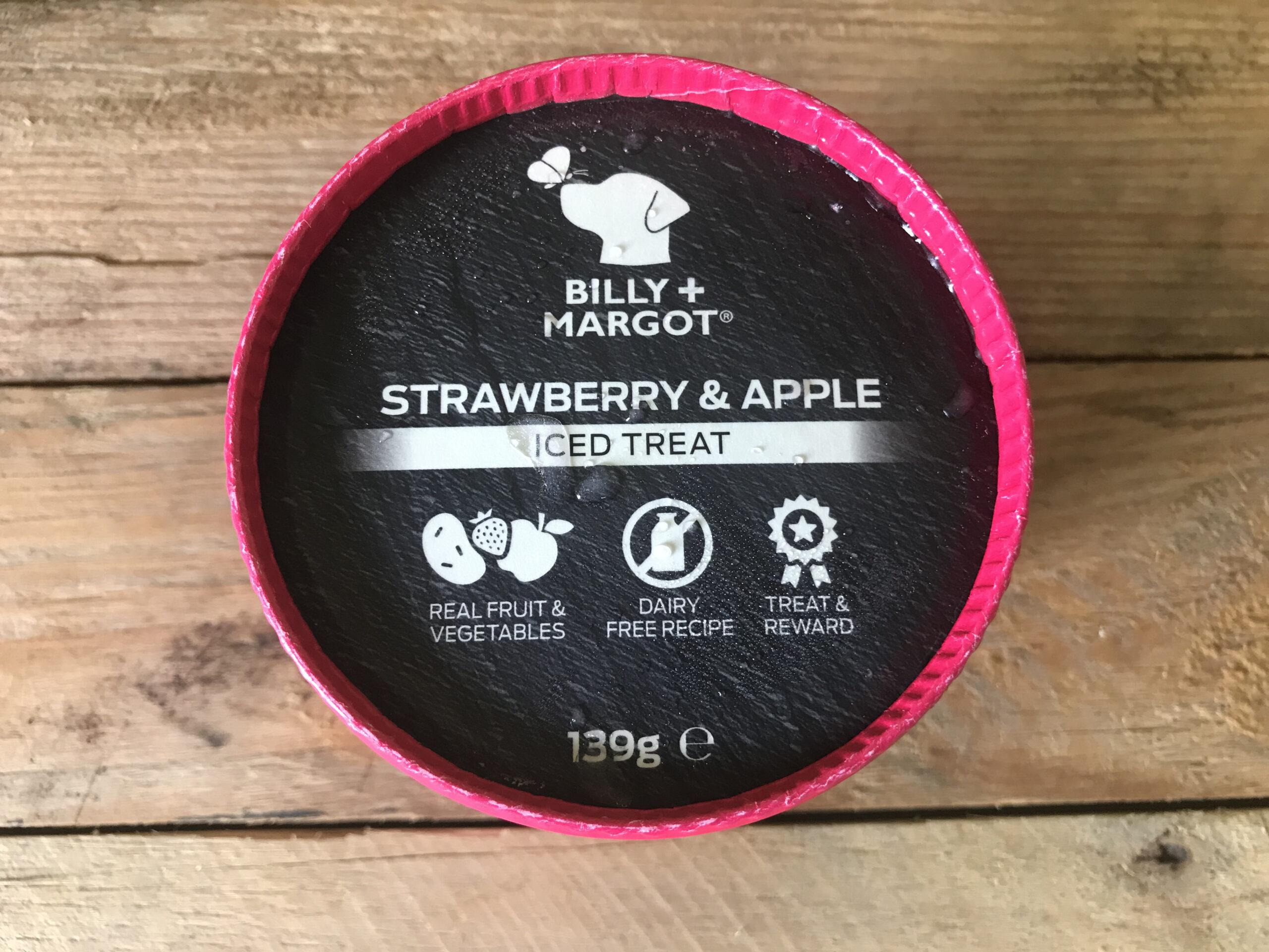 Billy + Margot Strawberry & Apple Iced Treat – 139g