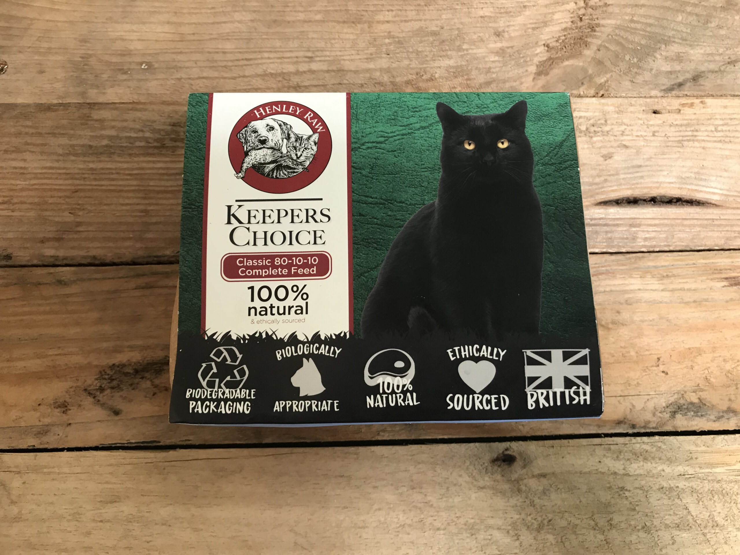 Henley Raw Keepers Choice – 500g